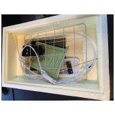 230V 28 vietų analoginis inkubatorius ZOLUSKA su automatiniu vartymu