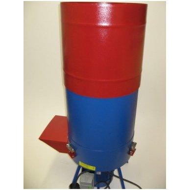 230V 2,2 kW šiaudų ir šieno smulkintuvas FERMER KR-02 (150 kg/val.) 4