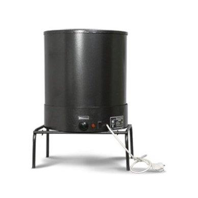 230V 800W kombinuota elektrinė karšto rūkymo rūkykla Elvin EKU 3