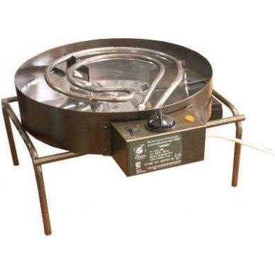 230V 800W kombinuota elektrinė karšto rūkymo rūkykla Elvin EKU 5