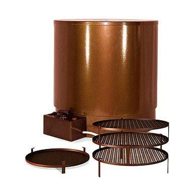 230V 800W kombinuota elektrinė karšto rūkymo rūkykla Elvin EKU 6