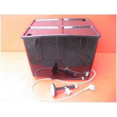 230V bakelis su termoreguliatoriumi (55 litrai) lauko dušui 2