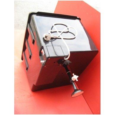 230V bakelis su termoreguliatoriumi (55 litrai) lauko dušui 3