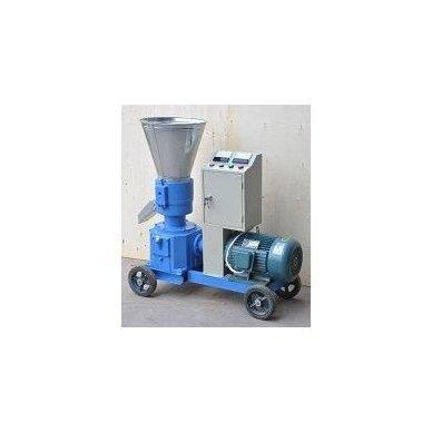 400V 11kW universalus: biokuro/pašarų granuliatorius ELMOTOR (90-150 kg/val., dvipusė matrica) 4