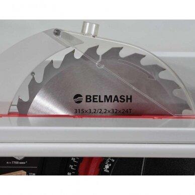 Daugiafunkcinės medienos apdirbimo staklės Belmash SDM-2500 (trijų peilių velenas) 6