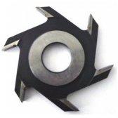 Diskinė griovelių FREZA Belmash D125x32x6 (išorinis diametras (skersmuo) 125 mm, vidinis standartinis- 32 mm,  6- su kietmetalio galiukais