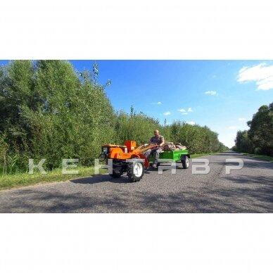 Dyzelinis motoblokas KENTAVR 10AG SU EL STARTERIU (aušinamas vandeniu, 250 kg) +3 DOVANOS 8