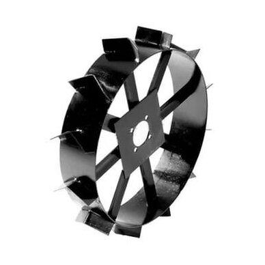 Gruntkibiai - grunto užkabinimo geležiniai ratai motoblokui BELARUS (MTZ) 600x130mm