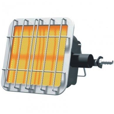 Infraraudonujų spindulių dujinis šildytuvas 2,3 kW