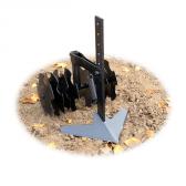 Kultivatorius-plokščias pjaustytuvas (ploskorezas) (KU5)