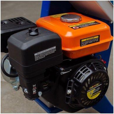 Malkų skaldyklė BELMASH LSG-500 (Benzininė) 5
