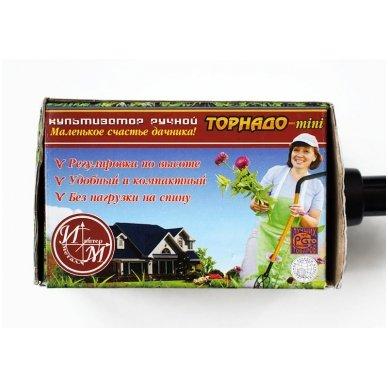 Mažesnis rankinis kultivatorius TORNADO MINI 4