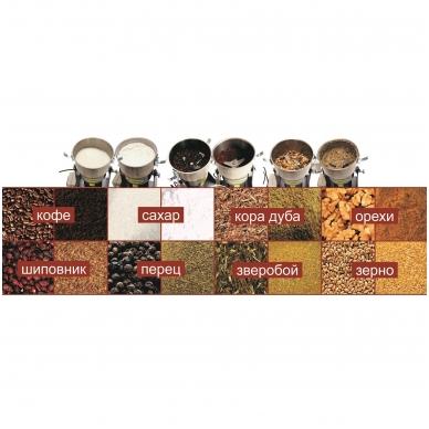 """MINI MALŪNĖLIS """"OZORNITSA"""" IZEP-01 (grūdai, prieskoniai, kava, cukrus ir pan.) 3"""