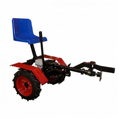 Motoblokų UGRA važiuojamasis-arimo adapteris  su galiniais varomaisiai ratais 4x4 4