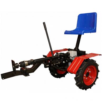 Motoblokų UGRA važiuojamasis-arimo adapteris  su galiniais varomaisiai ratais 4x4 2