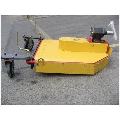 Šienapjovė-žoliapjovė-smulkintuvas (mulčeris) KRM-2 (motoblokas MTZ)