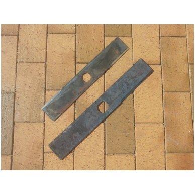 Šieno ir šiaudų smulkintuvo KR-02 smulkintuvo peilis (dvipusis, ilgas) 4