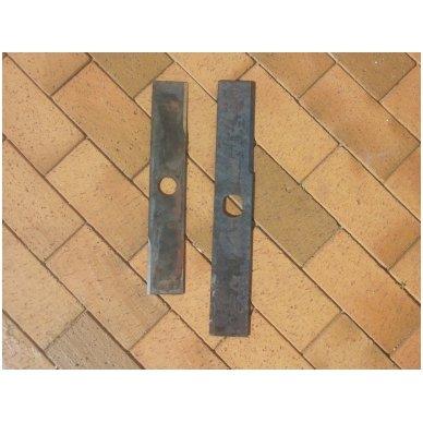 Šieno ir šiaudų smulkintuvo KR-02 smulkintuvo peilis (dvipusis, ilgas) 5