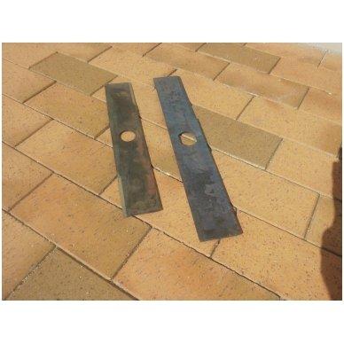Šieno ir šiaudų smulkintuvo KR-02 smulkintuvo peilis (dvipusis, ilgas) 6