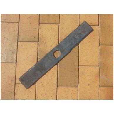 Šieno ir šiaudų smulkintuvo KR-02 smulkintuvo peilis (dvipusis, ilgas)