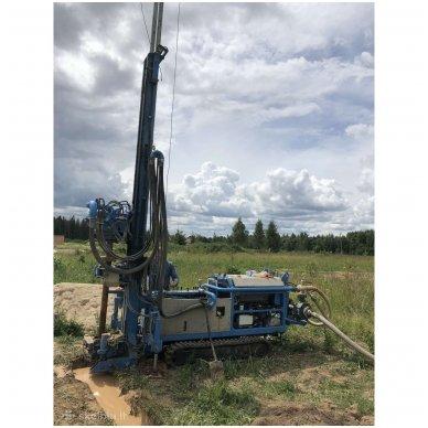 Profesionalus vandens  gręžnių bei gręžinių geoterminiam šildymui įrengimas