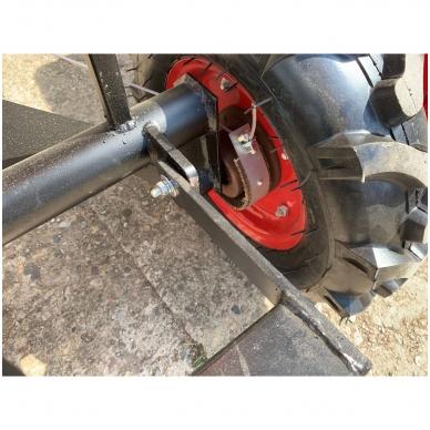 Važioujamasis arimo mudulis (universalus adapteris) prie visų tipų motoblokų 7
