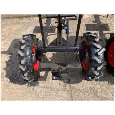 Važioujamasis arimo mudulis (universalus adapteris) prie visų tipų motoblokų 8