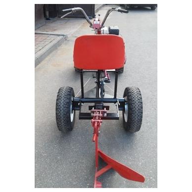 Važioujamasis arimo mudulis (universalus adapteris) prie visų tipų motoblokų 9