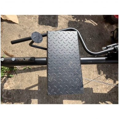 Važioujamasis arimo mudulis (universalus adapteris) prie visų tipų motoblokų 2