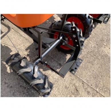 Važioujamasis arimo mudulis (universalus adapteris) prie visų tipų motoblokų 4