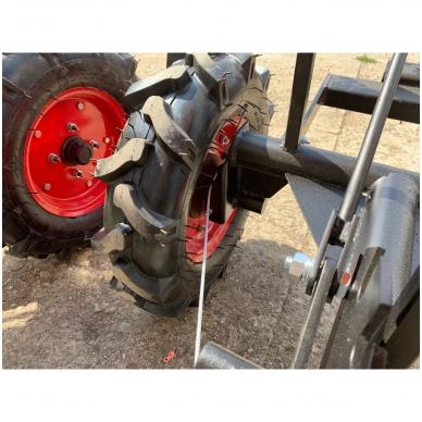 Važioujamasis arimo mudulis (universalus adapteris) prie visų tipų motoblokų 6